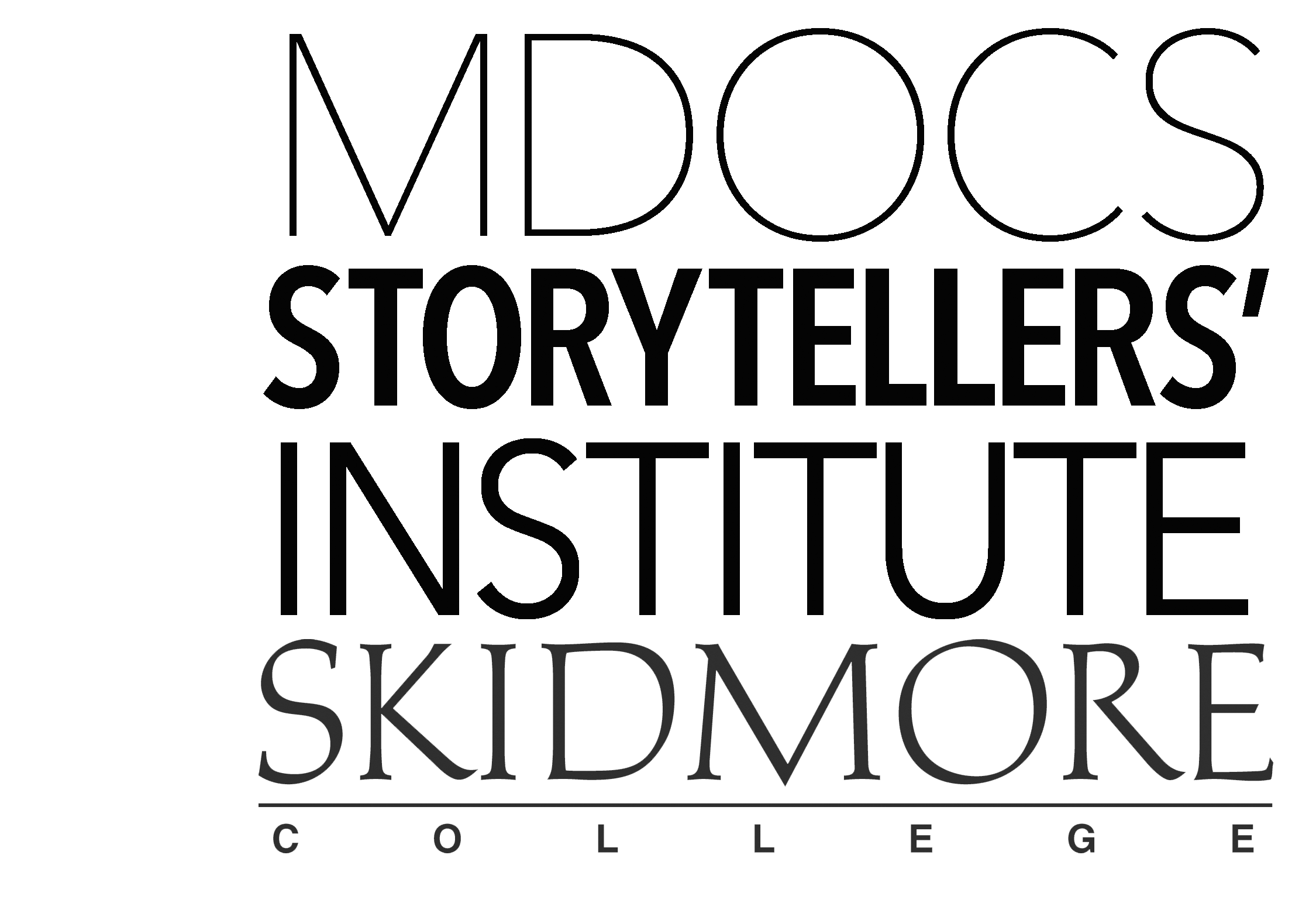 MDOCS Storytellers' Institute